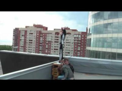 Съёмки клипа 'Слёзы вода'