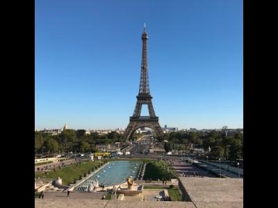 Прогулка по Парижу (Инфинити 2016)